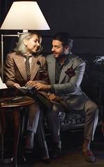 Ryna (bof352000) Tags: woman tie necktie suit shirt fashion businesswoman elegance class strict femme cravate costume chemise mode affaire