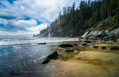 Short Sand Beach, Oswald State Park, Oregon (eikonologos.images) Tags: ocean falls beach oswaldstatepark shortsandbeach oregoncoast oregon nikkor20mmf4ais nikondf
