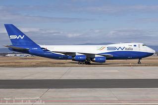I-SWIB Silkway SW Italia Boeing 747-4R7F