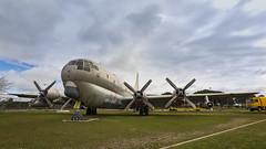 """Boeing KC-97L """"Stratotanker"""" (ramaca66) Tags: avión hélice museo nubes"""