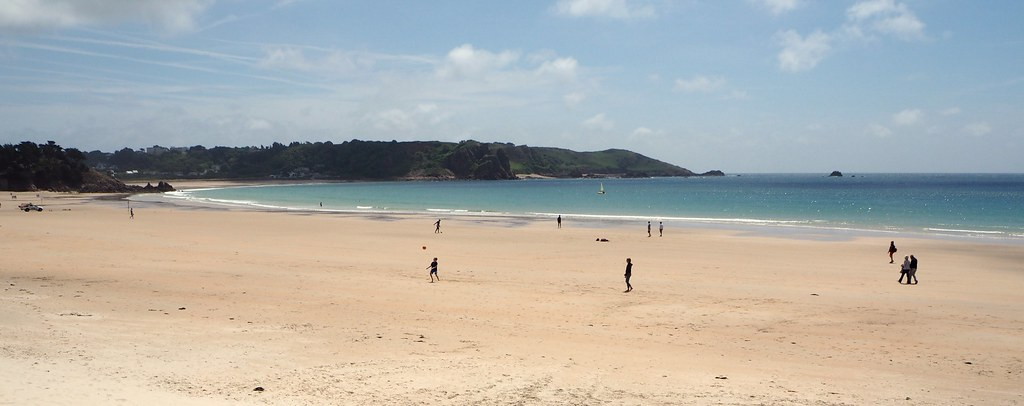 A Sunny Day At St Brelade