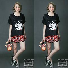 ชุดเซท2ชิ้น เบ็ตตี้บูป ทีเชิ้ต&กางเกงขาสั้น การ์ตูนวอลท์ดิสนี่ สไตล์มอสชิโน SET 2 PIECES BETTY BOOP OVERSIZED T-SHIRT&SHORTS SUMMER COLLECTION MOSCHINO ชุดเซท2ชิ้น เสื้อ&กางเกง ลายตัวการ์ตูนวอล์ทดิสนี่ เบ็ตตี้ บูป ตัวการ์ตูนสวยสวยตาโตเซ็กซี่สุดน่ารักสไตล์