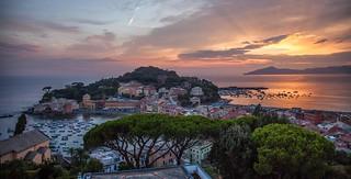 Sunset - Italian Riviera