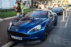 Blue Aston (jansupercars) Tags: france cars car martin cannes automotive spotted luxury aston supercars v12 carphotography vanquish 2015 carporn aml carpictures autogespot