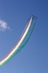 Airshow 55PAN Rivolto (Giorgio Montersino) Tags: italy airport italia aircraft military airshow pan airforce freccetricolori friuli frecce acrobatic rivolto pattugliaacrobaticanazionale