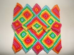 134 Täschchen (knotting_herbert) Tags: purse knotting täschchen knüpfen