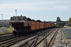 Eastleigh  66126 (davidhann34016) Tags: southampton dbs hoppers eastleigh ews hea eastyard westerndocks 66126
