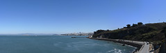 bay vistas panorama (pbo31) Tags: sanfrancisco california bridge blue panorama color skyline bay nikon large panoramic september baybridge bayarea fortpoint alcatraz 80 stitched presidio goldengatenationalrecreationarea 2015 boury pbo31 easternspan d810