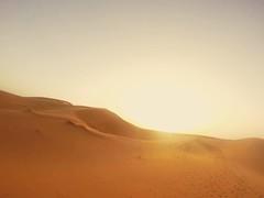 Sunset, Sahara Desert