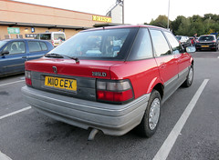 1995 Rover 218 SLD Turbo (Spottedlaurel) Tags: rover r8 218 nckerridge