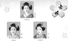 Kitano Odori 2009 018 (cdowney086) Tags: maiko  kamishichiken  kitanoodori  hanayagi naokazu ichiteru katsuru
