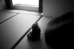 Sitting Meditation ? (sunnywinds*) Tags: bear meditate sitting noiretblanc room trix indoor tatami mindfulness meditation monochrom miji   leicam  typ246