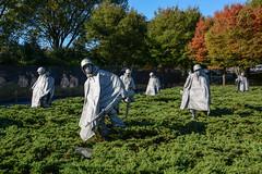 Korean War Memorial (sarah_presh) Tags: usa washingtondc memorial war korea koreanwarmemorial