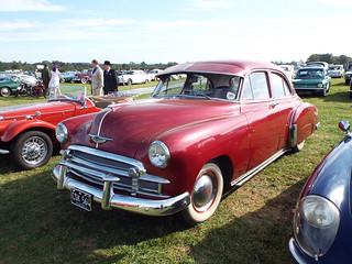 1950 Chevrolet Deluxe 4-door Sedan