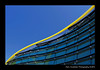 Museo Ferrari, Italy (Marc Funkleder Photography) Tags: blue italy abstract building yellow museum architecture jaune nikon italia factory ferrari musée line bleu modena curve italie usine ligne maranello abstrait d300 courbe enzoferrari modène nikond300 museoferrari
