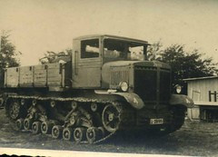 "Trophy truck ""Voroshilovets"" in the German army."