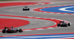 Formula 1 Grand Prix, Circuit of the Americas, Austin, Texas, 2015 (kimbenson45) Tags: blue red usa white cars sport race austin texas action stripes tx competition racing grandprix racers redwhiteandblue formula1 redbull motorracing striped drivers cota competitors tororosso scurves circuitoftheamericas