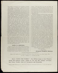 Black Friday: A Letter Sent by Mrs Saul Solomon1911PC/06/396-11/21 UDC Pamphlet Box 361