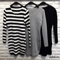 480฿#ส่งฟรีลงทะเบียนส่งemsเพิ่ม20บาทจ้า #สั่งซื้อไลน์ไอดีnoongninggeegyหรือคลิ้กลิ้งหน้าไอจีเลยจ้า New in!!!💓💓💓 Knitted Dress (Korea) เดรสไหมพรมแขนยาว คอวี ทรงพอดีตัว ชายผ่าข้างเล็กน้อย ใส่สวย ทรงเป้ะมากๆค่ะ ทำจากผ้าไหมพรมเนื