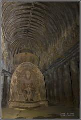 Imagen de Buda en las Grutas Ellora (Fotocruzm) Tags: india asia maharashtra buda aurangabad budismo patrimoniodelahumanidad patrimoniomundialdelahumanidad rupiaindia fotocruzm mcruzmatia grutasellora