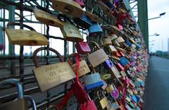 Kln (alvaromeck) Tags: bridge colors puente lock cologne kln colonia locks hohenzollern hohenzollernbrcke candados