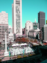 California Winter (jerimiah1martinez) Tags: sanfrancisco california street people ice cool iceskating skating fromabove cheesecakefactory colder winterwonderland californiawinter havingfun ipodtouch anotherpicture
