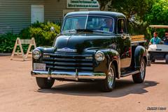 1953 Chevrolet 3100 pickup (kenmojr) Tags: auto show green classic chevrolet car truck vintage nikon antique pickup newbrunswick chevy moncton vehicle nikkor carshow centennialpark 1953 3100 18105 2015 atlanticnationals kenmorris kenmo d7100