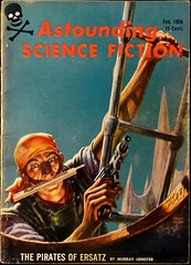 Astounding Science Fiction Vol. 62, No. 6 (Feb., 1959). Cover by Kelly Freas (lhboudreau) Tags: illustration magazine skull drawing pirates illustrations drawings pirate pulpfiction sciencefiction pulp magazines crossbones pulpmagazine freas brigands pulpcover buccaneers 1959 ersatz magazinecover buccaneer magazinecovers astounding brigand privateer leinster pulps privateers pulpcovers vintagemagazine murrayleinster vintagemagazines pulpart pulpmagazines astoundingsciencefiction kellyfreas frankkellyfreas february1959 astoundingstories classicsciencefiction vintagepulp astoundingmagazine sciencefictionstories streetsmith streetandsmith vintagepulps volume62number6 piratesofersatz thepiratesofersatz