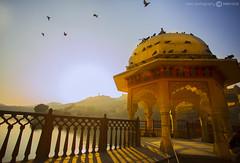Jaipur (eshu photography) Tags: sky india beautiful beauty birds sunrise landscape sceanic