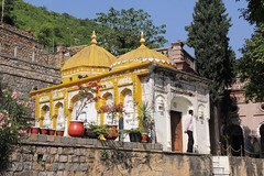 Gurdwara at Saidpur Village (Samrah Shahid) Tags: travel pakistan heritage architecture photography design shrine sightseeing architectural dome gurdwara gettyimages islamabad travelphotography saidpurvillage igerspakistan