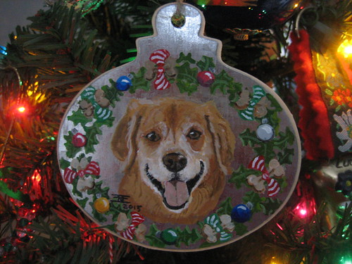 Christmas ornament - Lucy Nov 2015