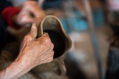 Quinchamalí, octubre 2016 (pslachevsky) Tags: artesanía chile chili lanzamiento quinchamalí artesanos gredanegra manos sur