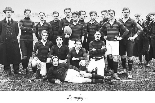 06-Carte postale // 10x15cm // Le rugby