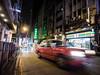 Hong Kong 10 (arsamie) Tags: hong kong china street night lights taxi cab red legendary neon central island asia