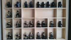 Lego Soldiers (影Shadow98) Tags: lego special forces modern military soldier weapon minifigcat tinytactical brickarms citizenbrick navy seal ksk sas sat rok udt us marines delta force recon