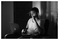 That's photography (Abraham Jacob N) Tags: bw monochrome night kottayam kerala india canon canon700d