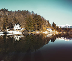 Lake Bled, Slovenia (Pablo Gil Garcia) Tags: lake bled paradise landscapes beautiful views lifestyle slovenja slovenia españa canon 50mm 35mm fisheye