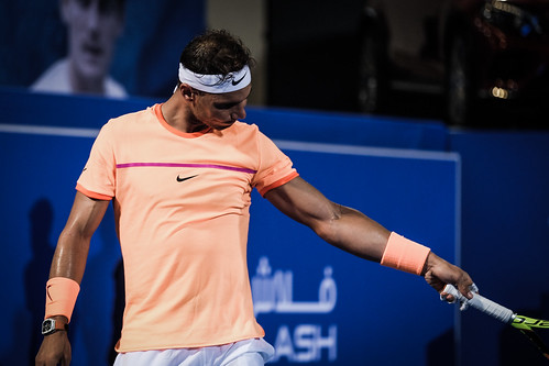 "Rafael Nadal is sure that ball was out • <a style=""font-size:0.8em;"" href=""http://www.flickr.com/photos/125636673@N08/31990037815/"" target=""_blank"">View on Flickr</a>"