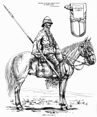 21st Lancers officer (roydutton) Tags: officer horseback dervish omdurman 21st lancers weapons forgotten heroes charge roy dutton