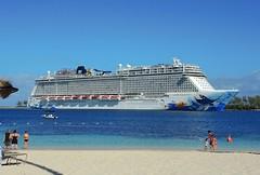 Bahamas (Nassau) Norwegian Escape welcomes to Nassau Port