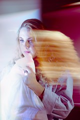 Scorned (Foster.Child) Tags: artdirection fashion colorstudy shutterdrag studiolighting collaboration digitalcapture