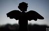 Broken angel (PaukSK) Tags: silhouette an angel with broken wing statuette canon m5 eos