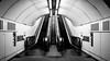 London Underground (sinnesblicke) Tags: england london uk sony a6000 zeiss1670 black white architecture ubahn metro