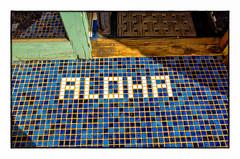 Aloha (Patricia Colleen) Tags: aloha hawaii maui haiku tiles blue lookingdown peacebewithyou loveyouall