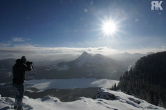 On Top of the World (ryan.kole32) Tags: kananaskis kananaskiscountry country canmore canmorealberta alberta canada canadianrockies rockies rockymountains landscape naturebeauty beautyinnature travel outdoors hiking sunburst sunstreak bluesky clouds trees forest photographer sony sonya77 wow