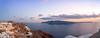 Santorini Pano (fotoshane) Tags: santorini caldera island greece oia europe landscape fotoshane sunset pano
