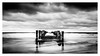 Baltic Sea (K.H.Reichert) Tags: ocean meer steg pier blackwhite ostsee balticsea brandung jetty sw buhne sea zingst mecklenburgvorpommern deutschland de