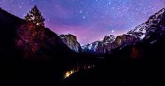 Yosemite Winter Evening (JarrodLopiccolo) Tags: yosemtie yosemite california tunnelview night evening stars winter snow pine tress trees landscape el capitan