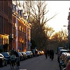 Amsterdam at Golden Hour (pom.angers) Tags: panasonicdmctz10 2011 march amsterdam bike bicycle love romance netherlands europeanunion