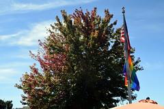 Rainbow (Worthing Wanderer) Tags: washington usa sunny summer hot sea mountains islands sanjuanislands orcasisland anacortes eastsound